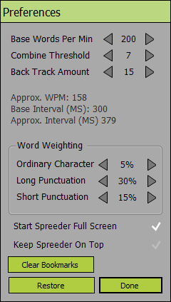 Speed Reader Enhanced download | SourceForge net
