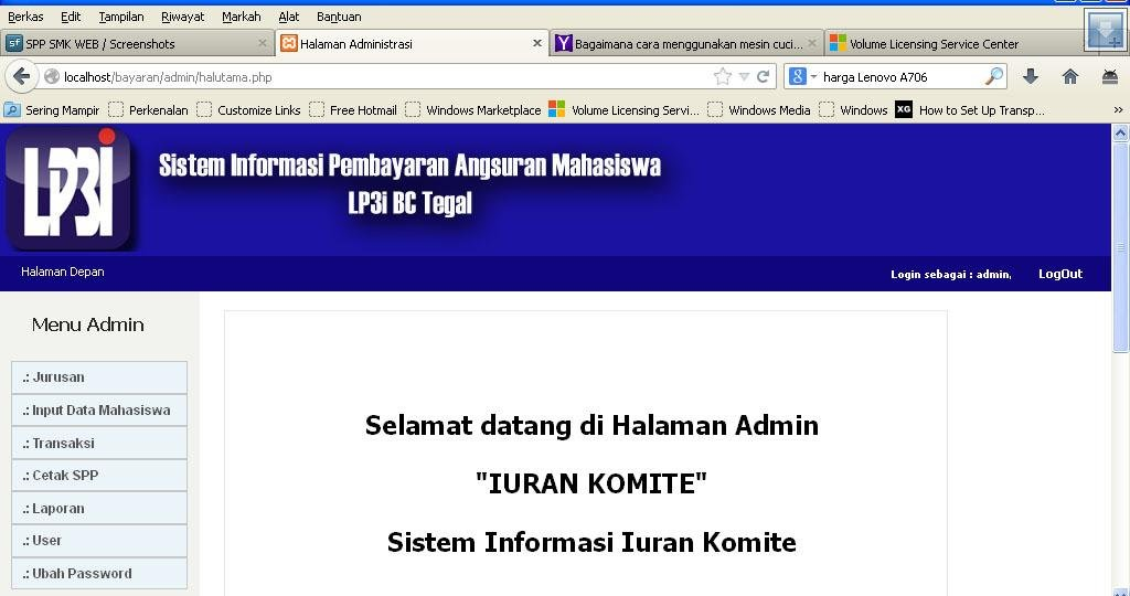 Spp smk web download sourceforge halutama ccuart Image collections
