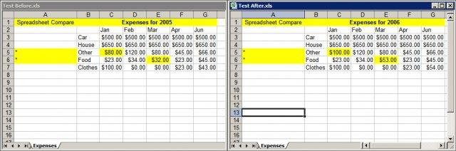 Spreadsheet Compare download | SourceForge.net