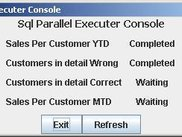 Sql Parallel Executer's Front End - Scripts in Progress
