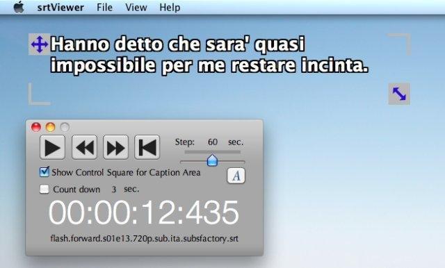 SrtViewer for Mac OS X download | SourceForge net