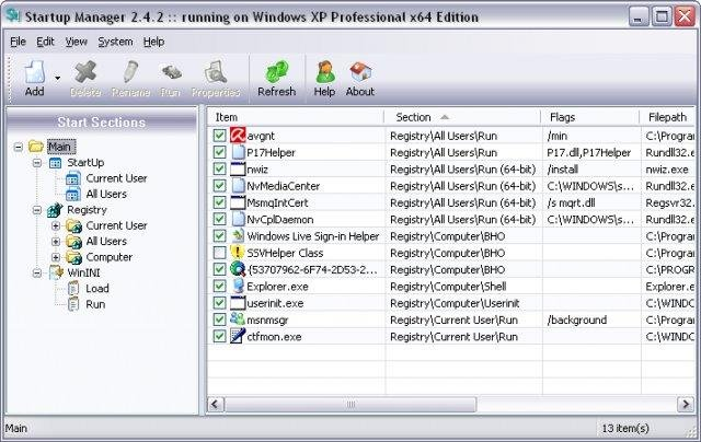 Startup Manager Download Sourceforge Net
