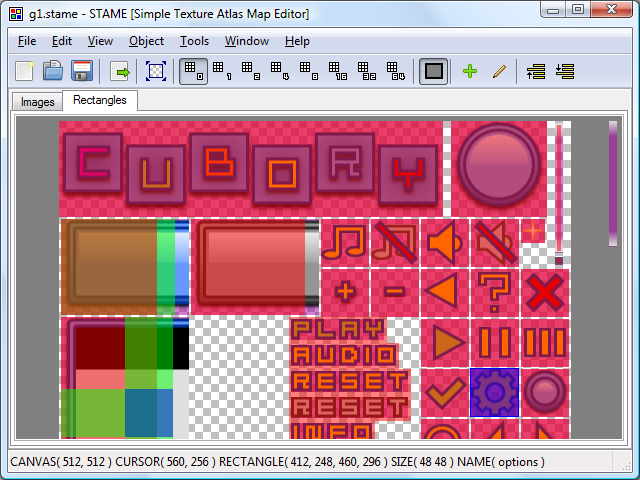 STAME - Simple Texture Atlas Map Editor download   SourceForge net