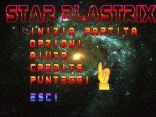 Star Blastrix Main menu
