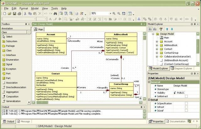 Staruml download sourceforge class diagram ccuart Gallery