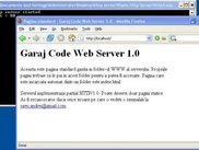 Static http server working