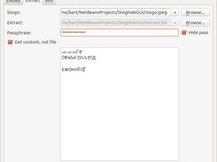 SteghideGUI download | SourceForge net