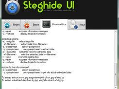 Steghide UI download | SourceForge net