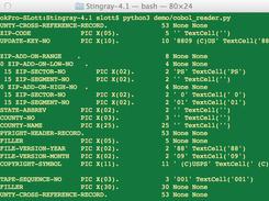 Stingray - Schema-Based File Reader download | SourceForge net