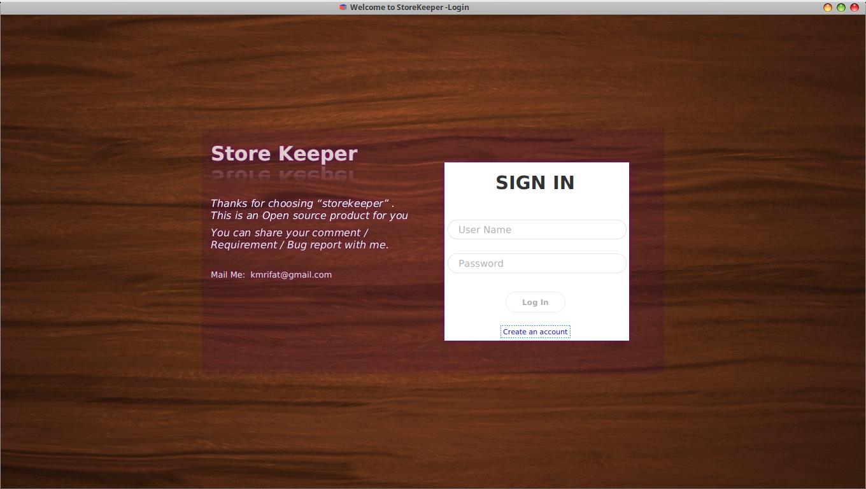 Storekeeper-Inventory Management System download