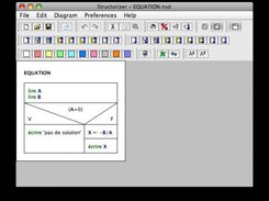Structorizer 3.17 running on Mac OS X