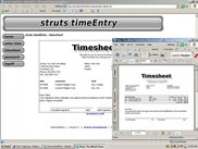 Timesheet output
