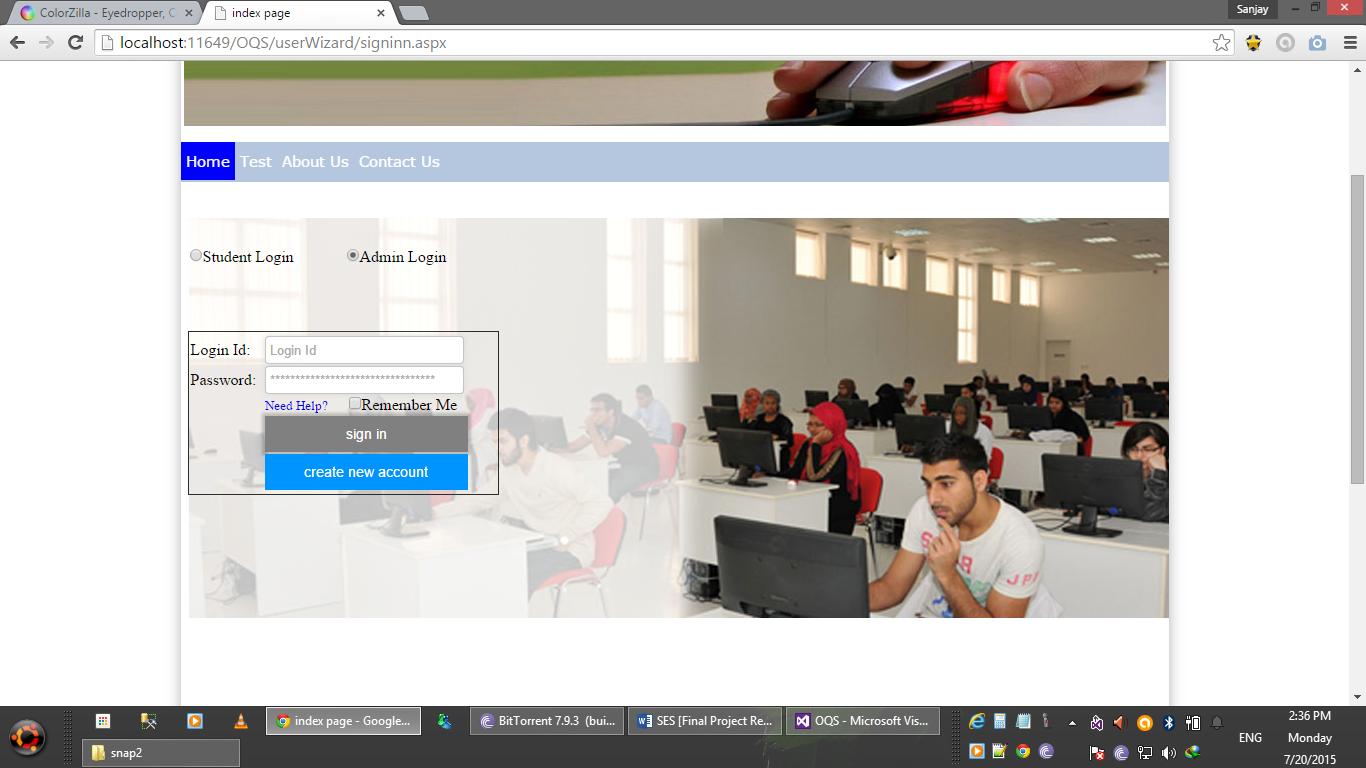 Student Evaluation System download | SourceForge net