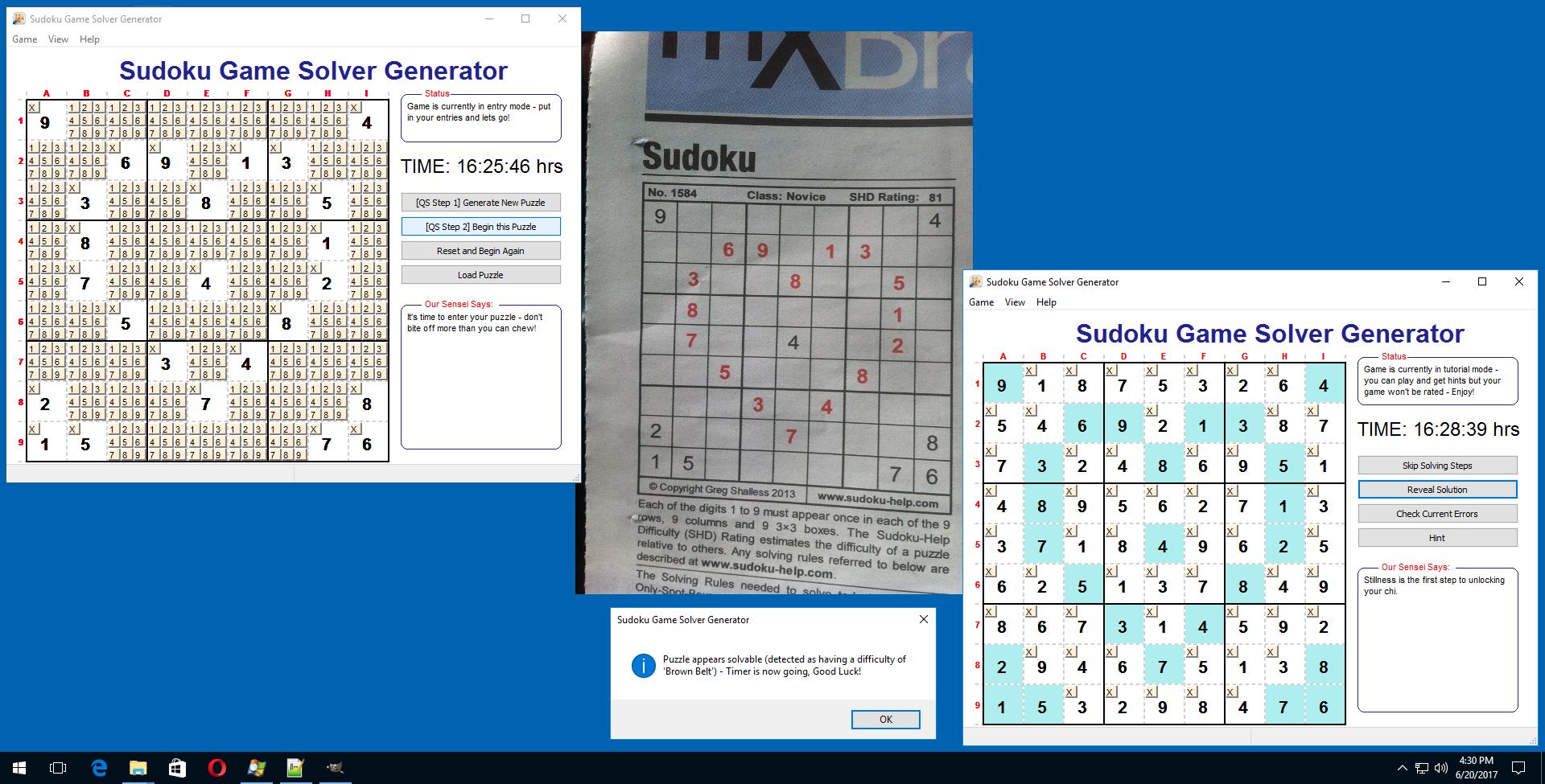Sudoku Game Solver Generator download | SourceForge net