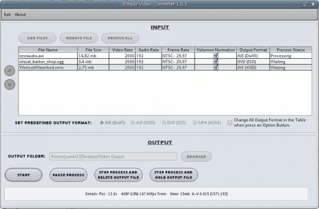 Simple Video Converter download | SourceForge net