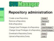 SVNManager repository administration