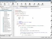 Code editing in MonoDevelop 0.7 in Suse 10