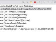 Eclipse debug view launching