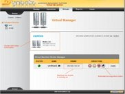 Virtual machines manager cluster