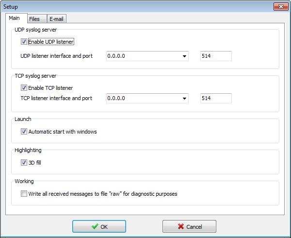 Visual Syslog Server for Windows download | SourceForge net