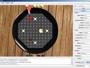 Top view in the 3D GUI (Gyna is placed on the board)