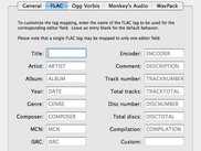 The FLAC preferences