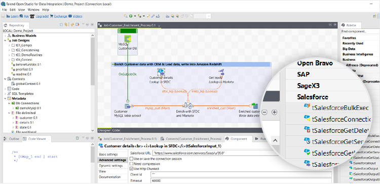 Talend Open Studio for Data Integration download