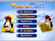 Main menu (in french and under linux)