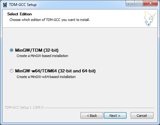 TDM-GCC MinGW Compiler download | SourceForge net