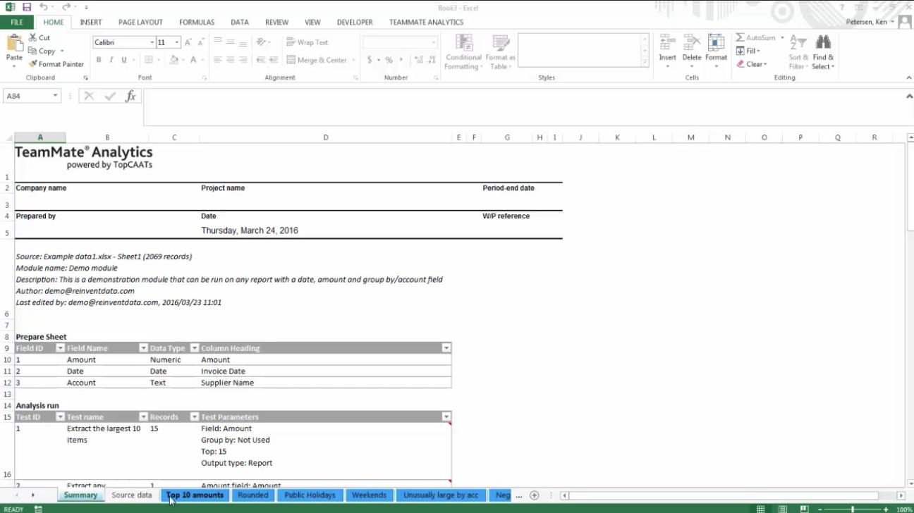 teammate audit software free download