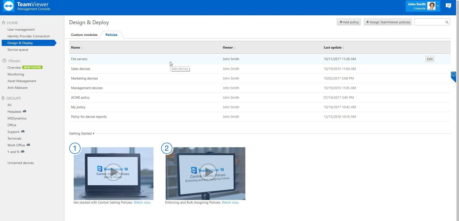 TeamViewer vs  dualmon Remote Access Comparison