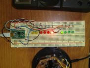 teensyninja development on a breadboard