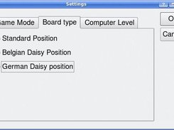 3. Settings: Starting positions