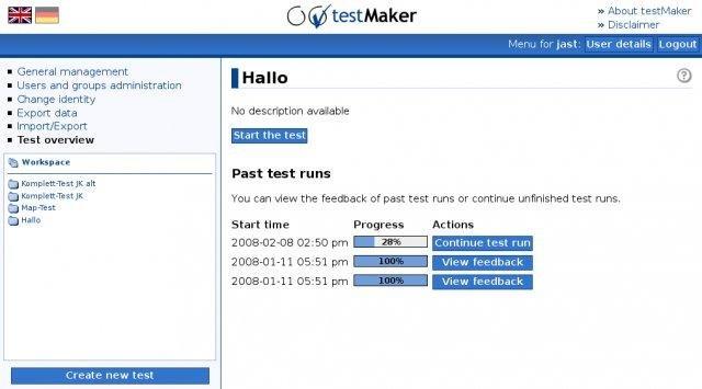 testMaker download | SourceForge net