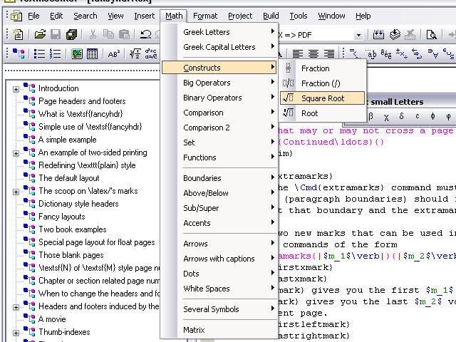 TeXnicCenter download | SourceForge net