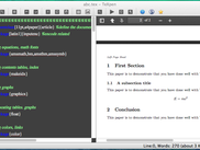 TeXpen for OS X (PDF preview)