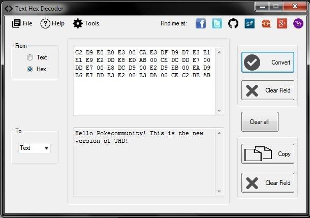 Tekst Hex Konverter V211 Hent Sourceforgenet-6581