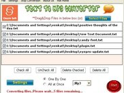 ClassleSoft Text to Mp3 converter screenshot 2