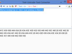 Text-Unicode-Text Converter download | SourceForge net