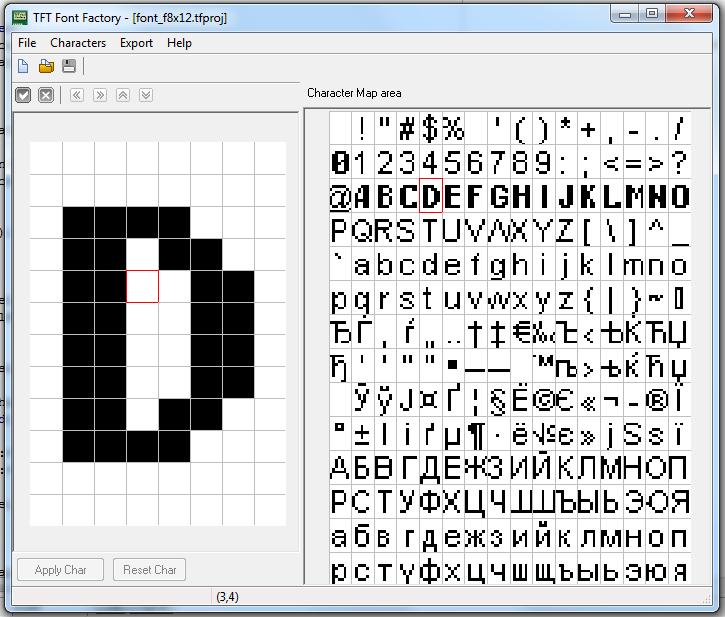 TFT Font Factory download | SourceForge net