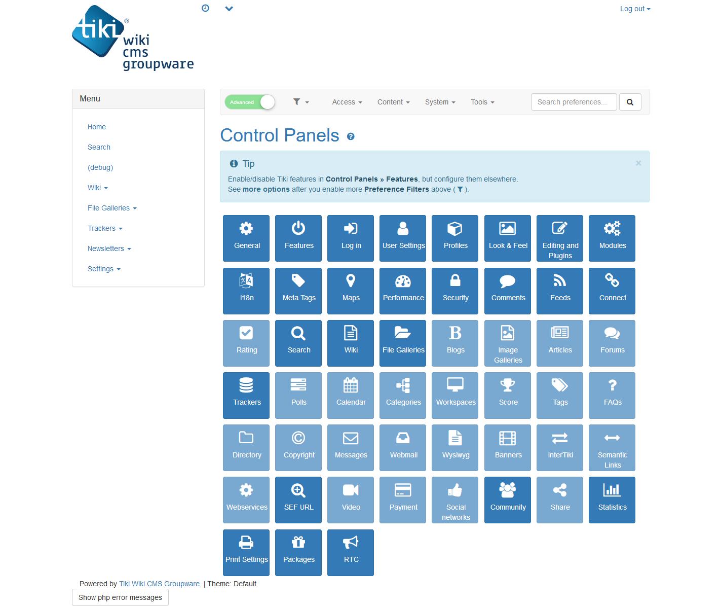 Tiki Wiki CMS Groupware download | SourceForge net