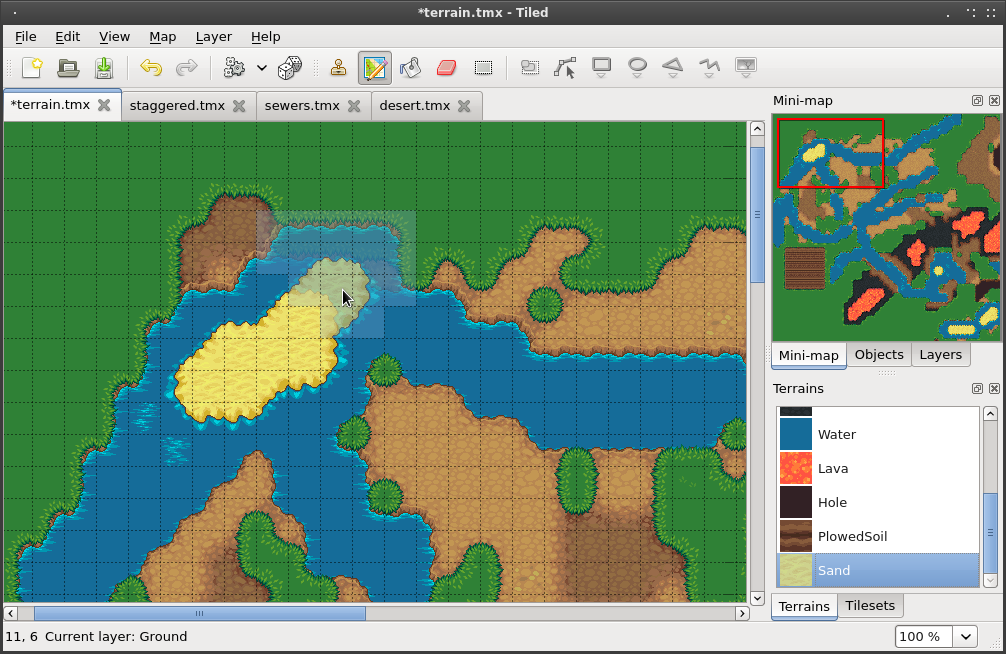 Tiled download sourceforge using the terrain tool on an orthogonal map gumiabroncs Gallery