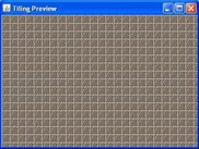 c: Rectangular tiling preview.
