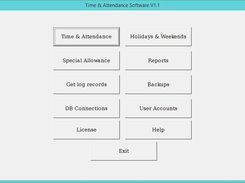 Time & Attendance Software download | SourceForge net