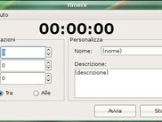 TimerX screenshot