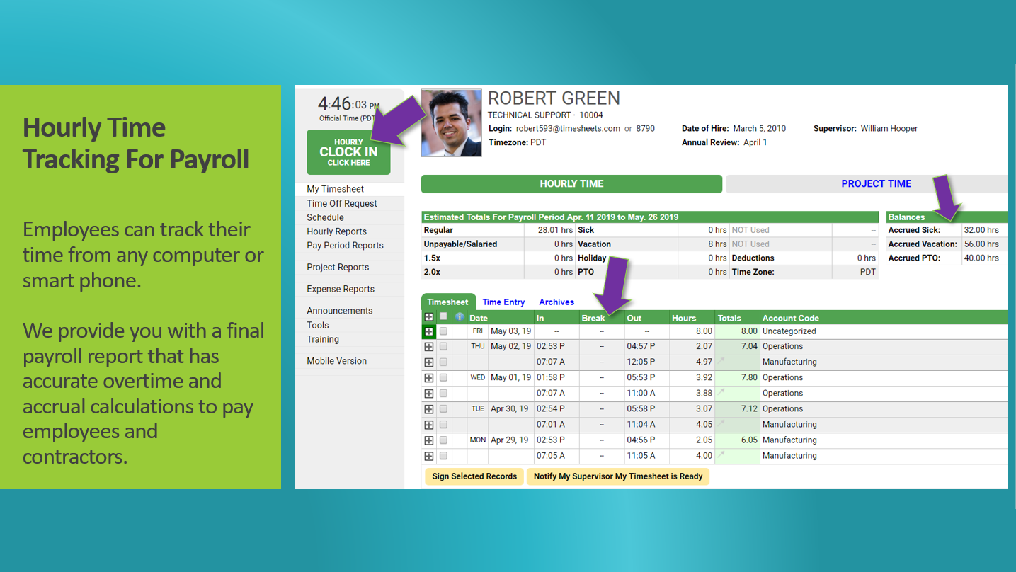 TIMESHEETS COM Reviews and Pricing 2019