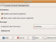 Snapshot Policy Management Interface