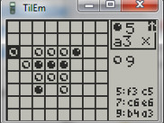 Example of application created with Tiny Pascal for TI-8x