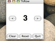 TkRow running in Mac OS X