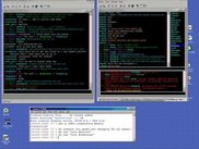 XiRCON-][ (left) is a copy of XiRCON 1.0b4 (right)